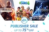 EA Publisher Sale offers deep discounts via Origin store