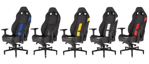 Magnificent Corsair Launches The T2 Road Warrior Gaming Chair Hardware Spiritservingveterans Wood Chair Design Ideas Spiritservingveteransorg