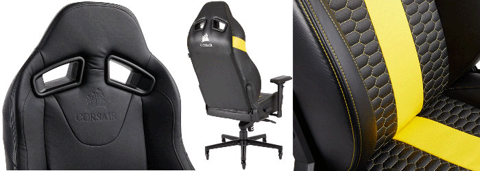 Excellent Corsair Launches The T2 Road Warrior Gaming Chair Hardware Spiritservingveterans Wood Chair Design Ideas Spiritservingveteransorg