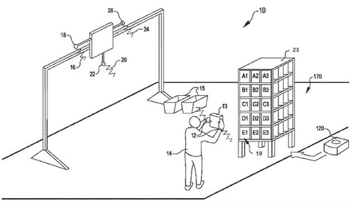 Amazon has patented a wristband that tracks its employees' movements