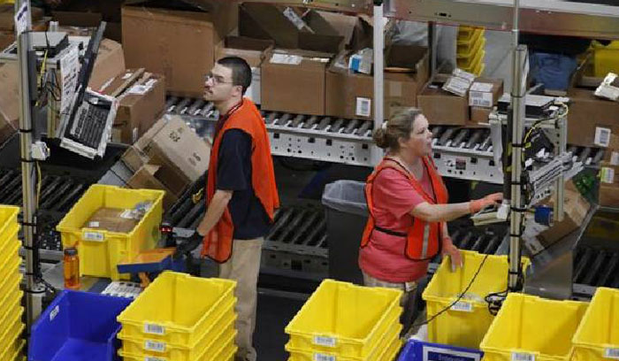 Amazon patents wristbands to track warehouse staff