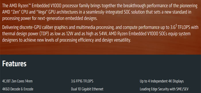 AMD EPYC and Ryzen embedded processors launched - CPU - News
