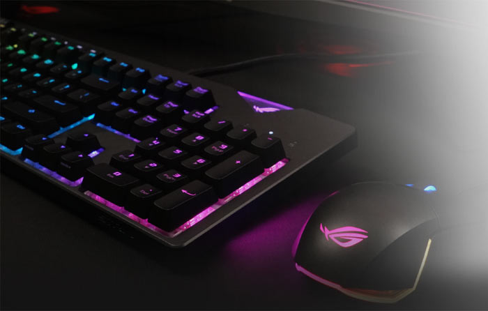 45f5a39b376 Customisation software comes in the form of the new Armoury II, and the Asus  ROG Strix Flare mechanical gaming keyboard is the first Asus product to use  ...