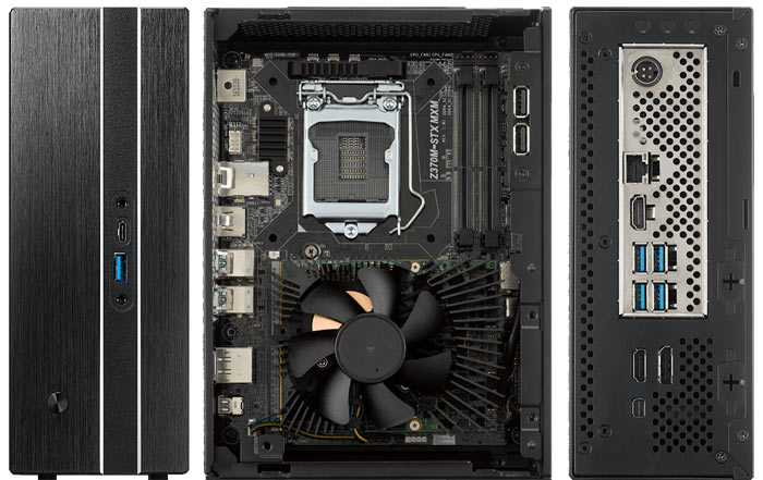 ASRock updates DeskMini GTX/RX with Coffee Lake CPU support