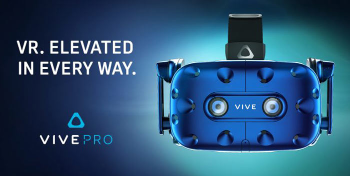 HTC Vive Pro to arrive in April at $799