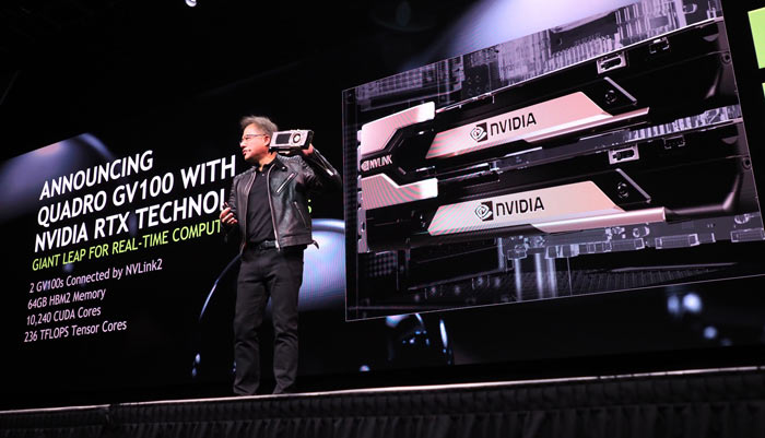 Nvidia unveils the Volta-based Quadro GV100 - Graphics - News ...