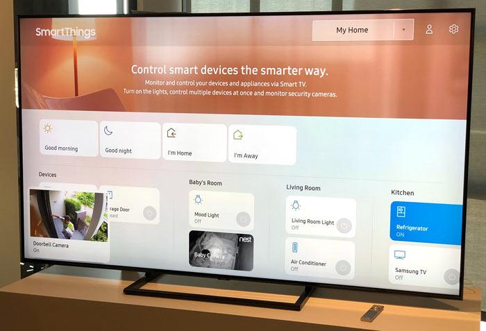 Samsung unveils 2018 QLED TVs - Audio Visual - News - HEXUS net