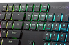 A sleek mechanical keyboard for work and play.