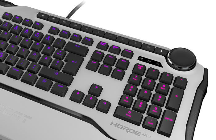 Roccat Horde Aimo Membranical keyboard now available