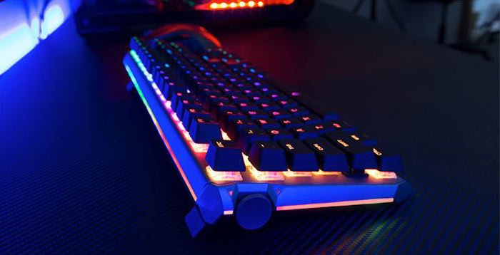 9a7342e8549 Drevo Blademaster keyboard scores Kickstarter goal in 1 day ...