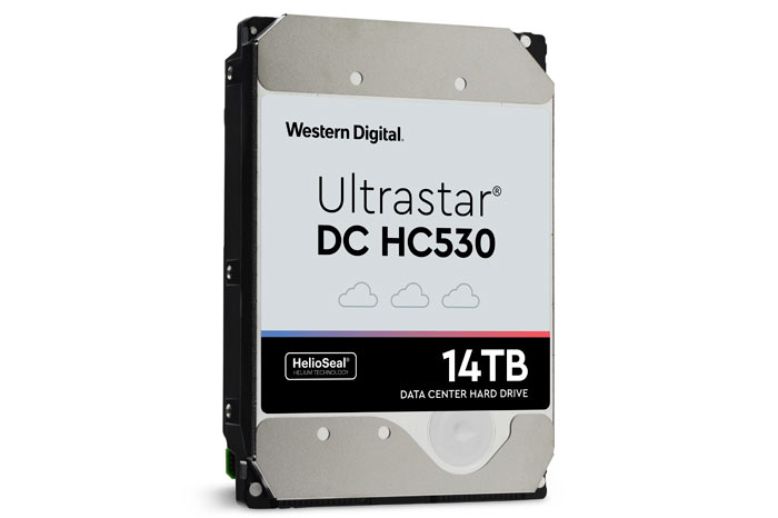 WD launches Ultrastar DC HC530 14TB HelioSeal hard drive