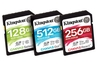 Kingston Canvas Flash memory cards target three use profiles
