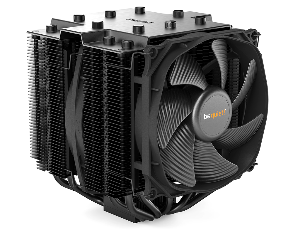 Review Be Quiet Dark Rock Pro 4 Cooling Switch Wiring Pc Fan Cool First Unveiled At Ces Back In January The Is Quiets Latest Attempt A Flagship Air Cooler And Making Its Way To Retail Shelves