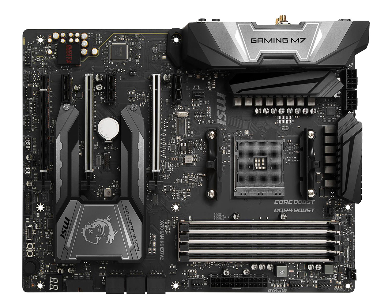 Review: MSI X470 Gaming M7 AC Wifi - Mainboard - HEXUS net