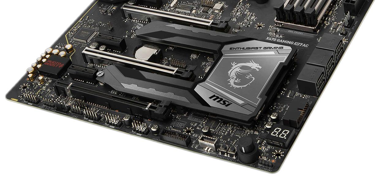 Review: MSI X470 Gaming M7 AC Wifi - Mainboard - HEXUS net