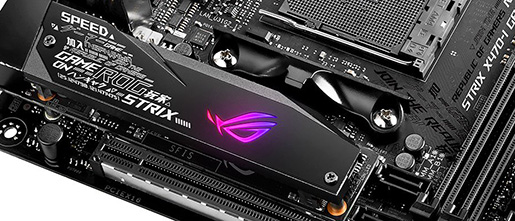 Review: Asus ROG Strix X470-I Gaming - Mainboard - HEXUS net