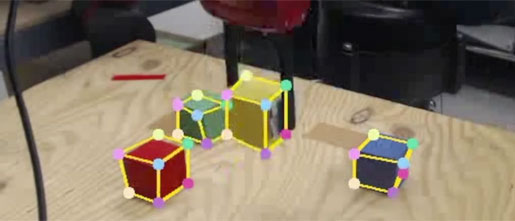 So industrial robots can mimic the visual way that humans learn.