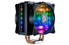 Features twin translucent MF120R fans, quad direct contact heatpipes, RGB LEDs.