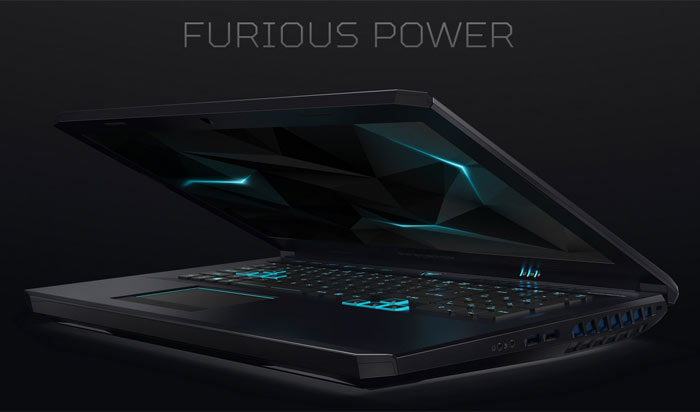 Acer Predator Helios 500 laptop offers Ryzen and RX Vega