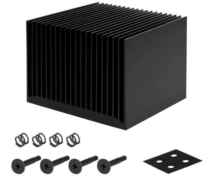 Arctic Alpine 12 Passive Intel CPU cooler launched - Cooling