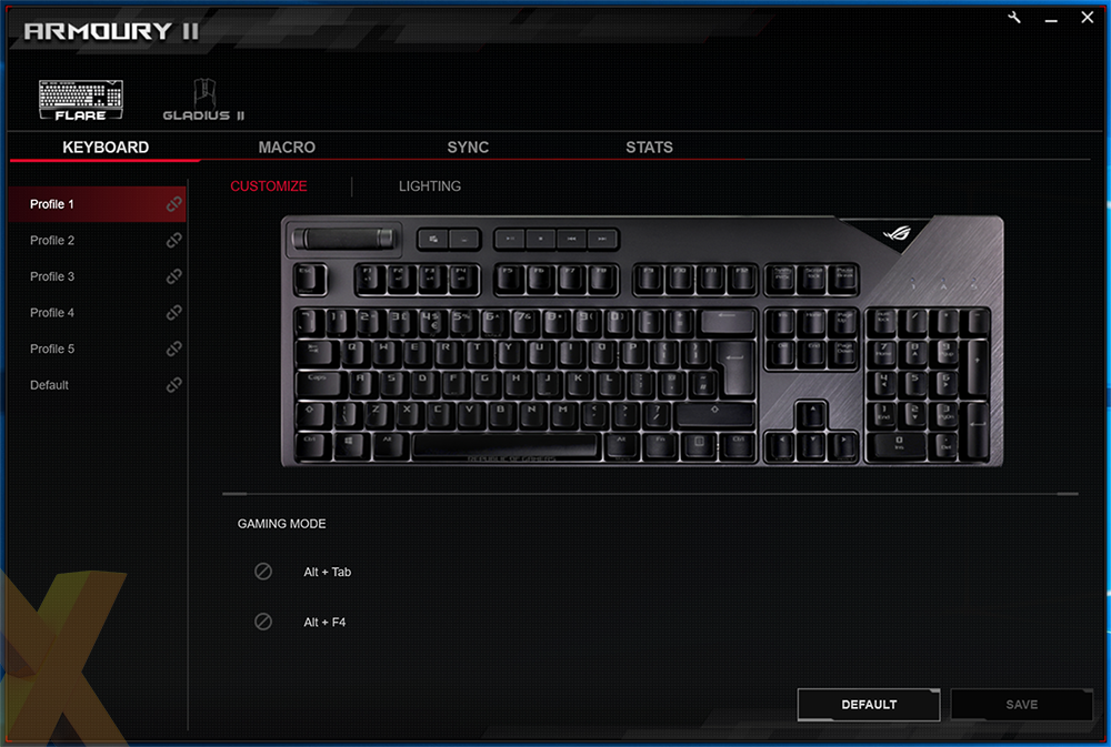 Review: Asus ROG Strix Flare - Peripherals - HEXUS net - Page 2