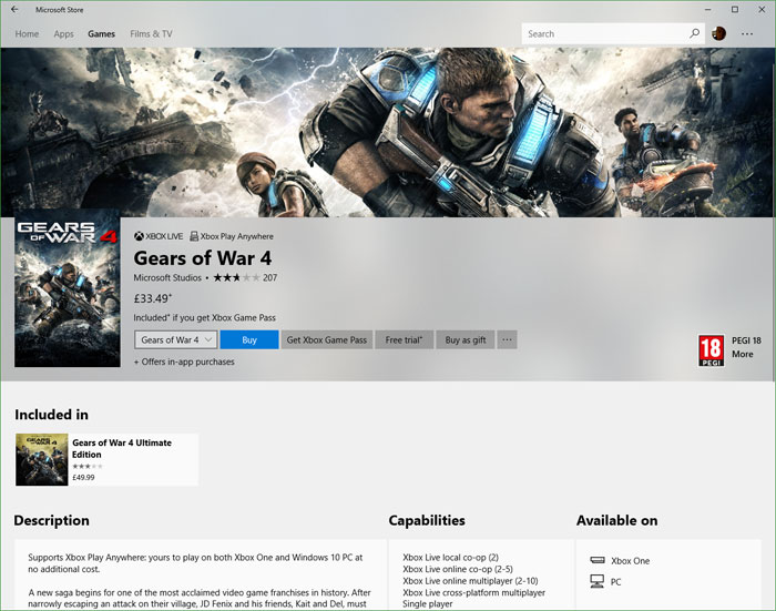 Microsoft Store enables PC games and DLC gifting - PC - News