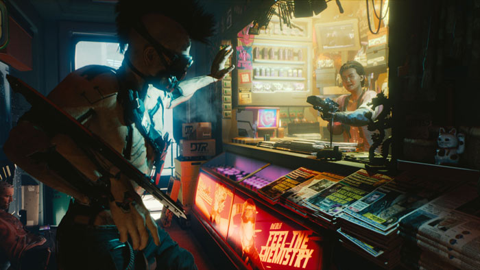Cyberpunk 2077 Multiplayer Could be in the Works