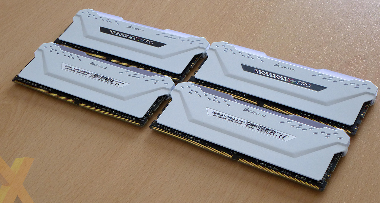 Review: Corsair Vengeance RGB Pro 32GB DDR4-3600