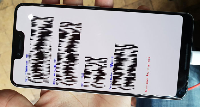 Leaked Photos of the Google Pixel 3 XL?