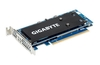 Gigabyte launches PCIe cards for up to four M.2 SSDs