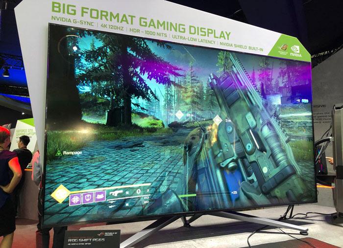 Asus lists its ROG Swift PG65 Nvidia BFGD monitor - Monitors