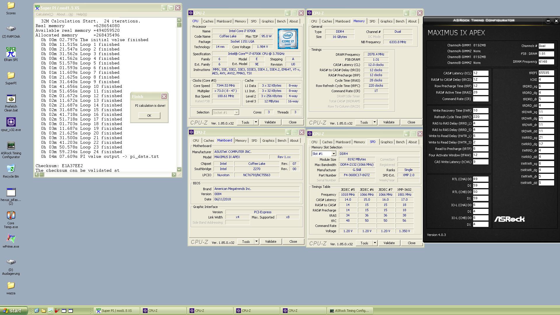 9700k Overclock Voltage