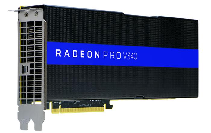 AMD Radeon Pro V340 graphics card announced - Graphics