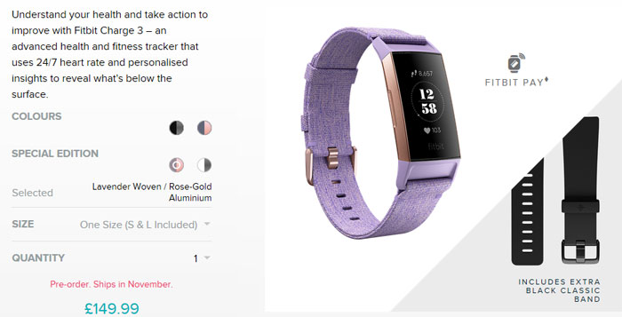 Fitbit Charge 3 looks like an impressive update - Accessories - News