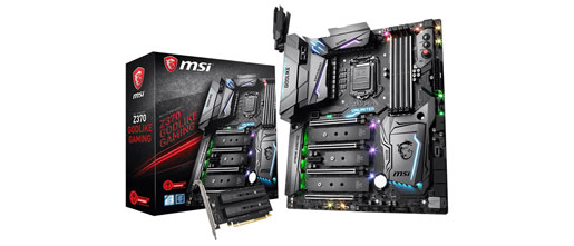 MSI releases Z370 motherboard BIOS files for Intel 9K support
