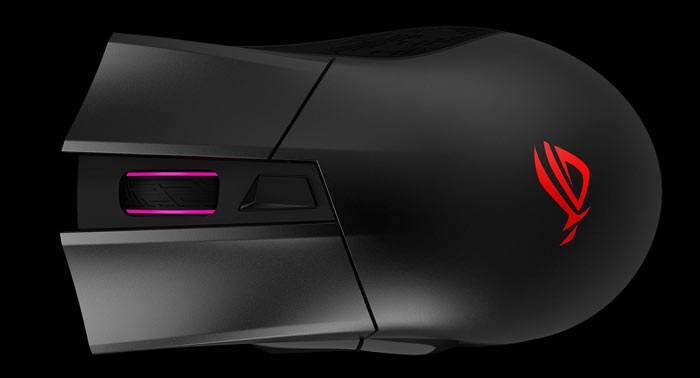 Asus ROG Gladius II Wireless Gaming Mouse introduced