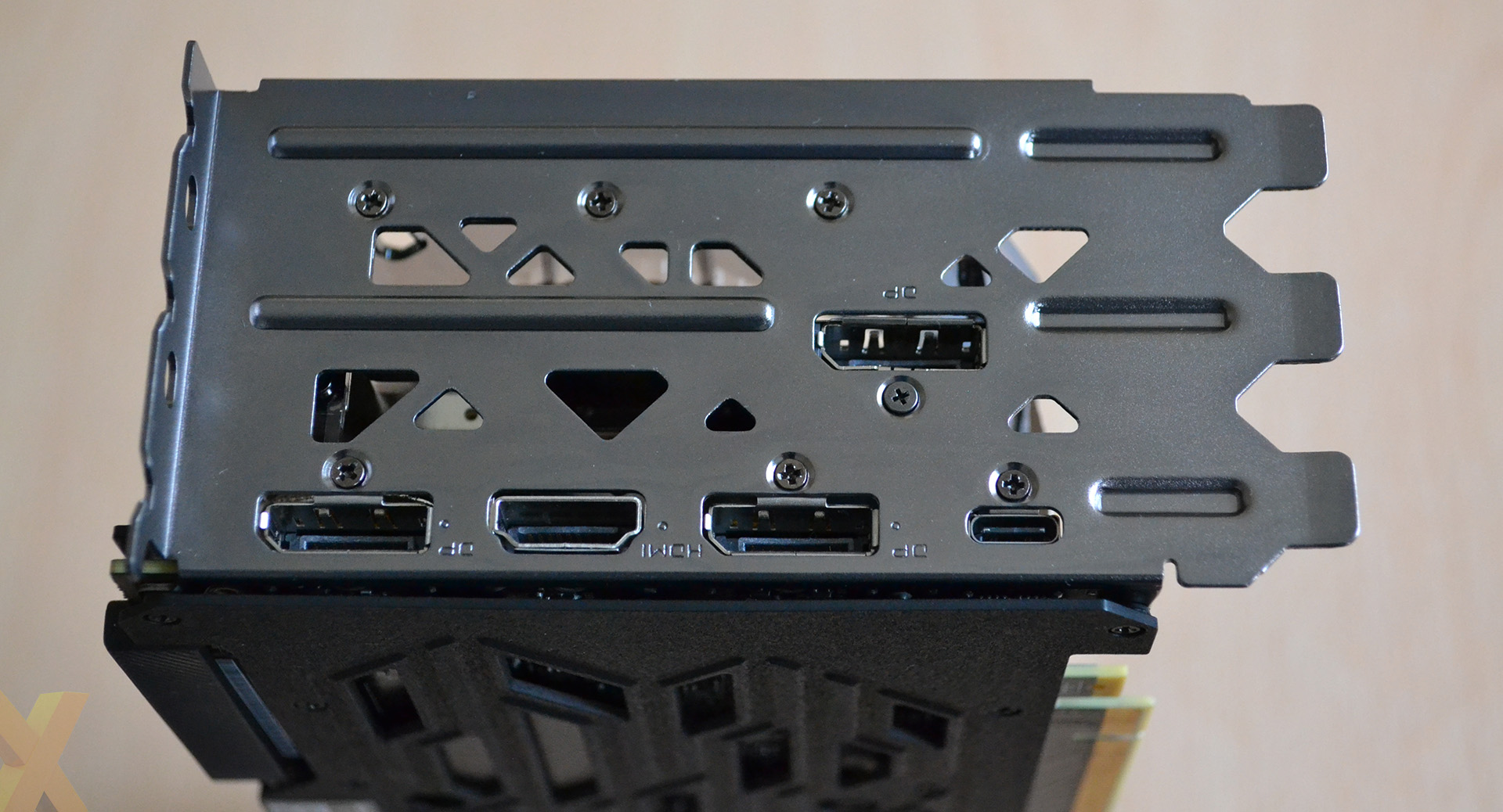 Review Evga Geforce Rtx 2080 Xc Ultra Gaming Graphics Mad Max Engine Diagram Going Big On Height Requires A Three Slot I O Section That Looks Ungainly What Youll Notice Is The Five Outputs Are All In Same Position As