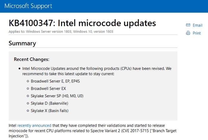 Windows 10 KB4100347 update breaks Broadwell-E overclocking - CPU