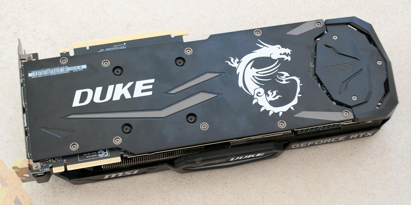 Review: MSI GeForce RTX 2080 Ti Duke 11G OC - Graphics - HEXUS net