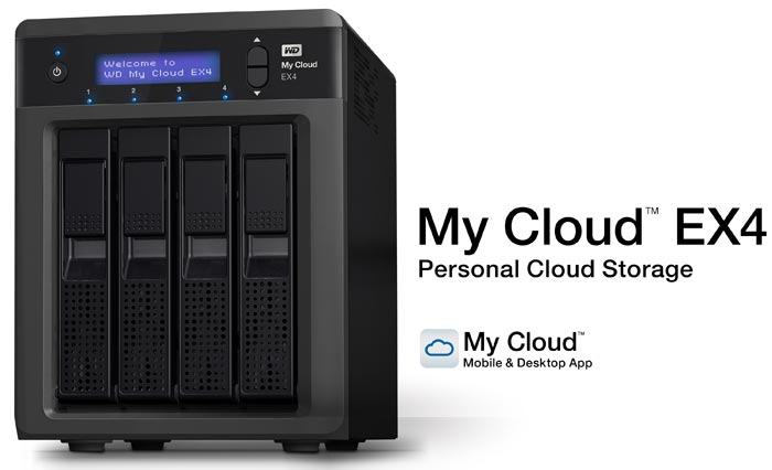 Western Digital My Cloud passwords