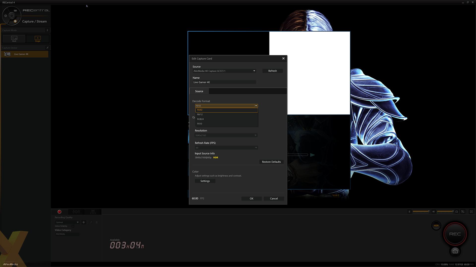 Review: AVerMedia Live Gamer 4K (GC573) - Peripherals - HEXUS net