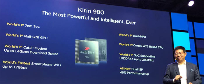 Huawei Kirin 980 is the world's first 7nm mobile SoC - CPU - News