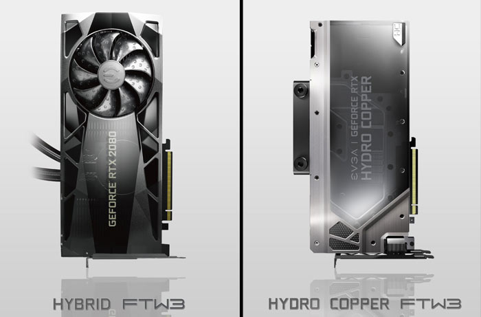 EVGA confirms Hydro Copper and Hybrid GeForce RTX 20 cards
