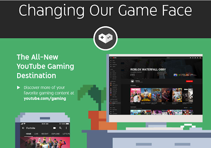 YouTube to Kill Gaming App, Moves Content to New Hub