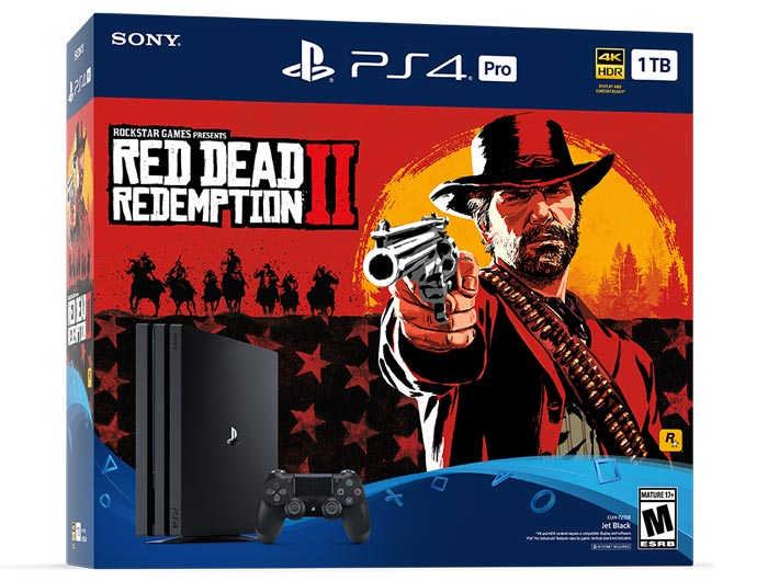 Red Dead Redemption 2 features in three PS4 bundles - PS4