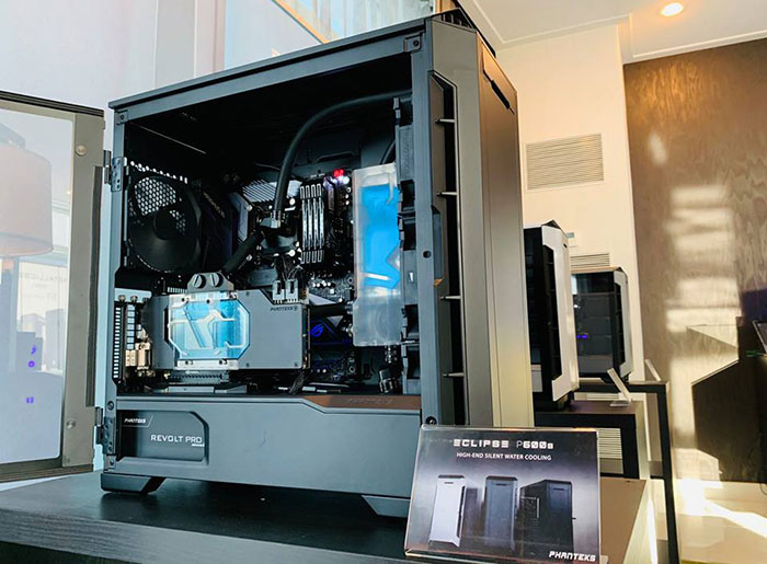 Phanteks Eclipse P600s Silent High Airflow Case Debuts At