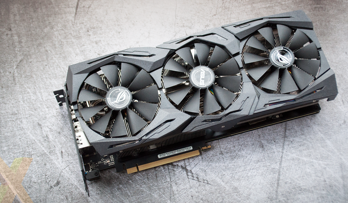 Review: Asus ROG Strix GeForce RTX 2060 OC - Graphics