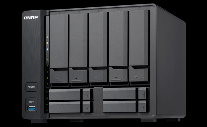 Qnap exhibits a wide range of storage and NAS devices - Storage