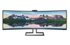 Philips releases 499P9H 49-inch SuperWide curved monitor
