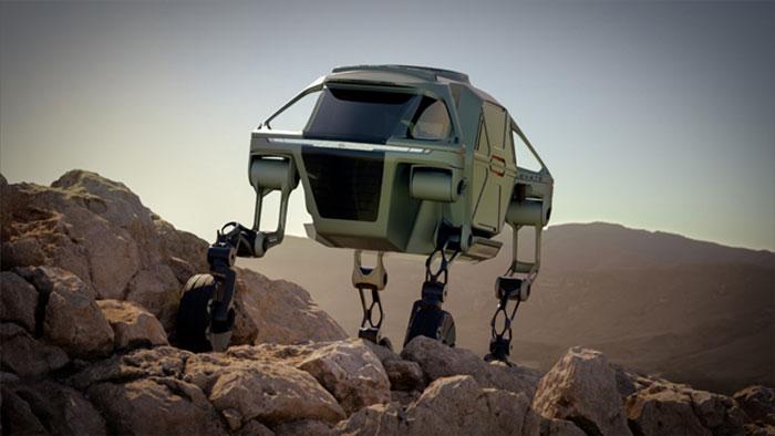 Wait, what? Hyundai reveals wacky 'walking' auto concept!